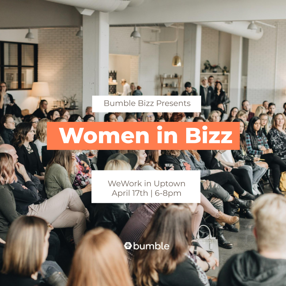 Echo a Panelist for Women in Bizz Event organized by Bumble