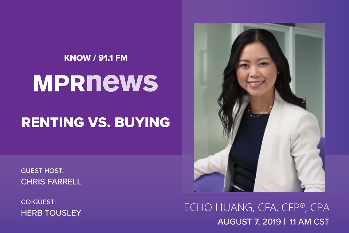 Echo Huang on MPR News: Renting vs. Buying