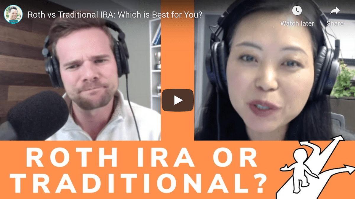 Echo Huang discusses Roth vs Traditional IRAs with Marriage, Kids, and Money Podcast